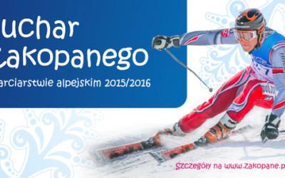Puchar Zakopanego w narciarstwie alpejskim na Polanie Szymoszkowej