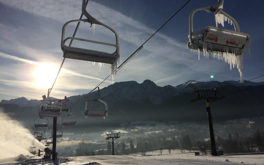 Duża kolej rusza dla narciarzy 29.12