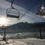 Zima na Polanie Szymoszkowej w Zakopanem
