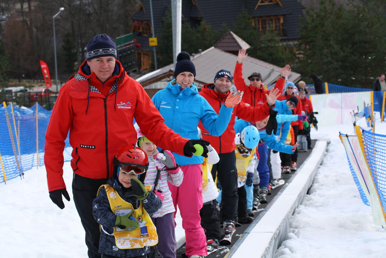 Kursy narciarskie dla dzieci SITNUŚ