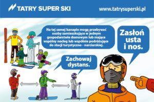 Tatry Super Ski - wytyczne COVID dla stacji narciarskich